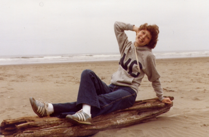 Taken at Ocean Shores on our honeymoon 1981