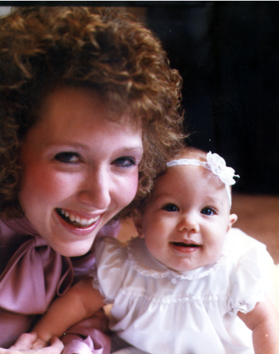 Mommy and Ashlee 1987