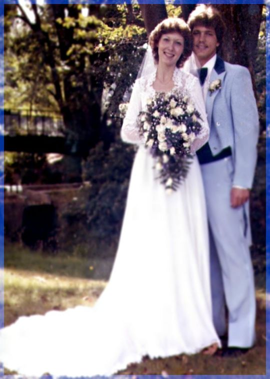 Greg and me married 1981