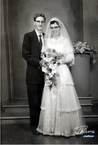 My Parents married 1955
